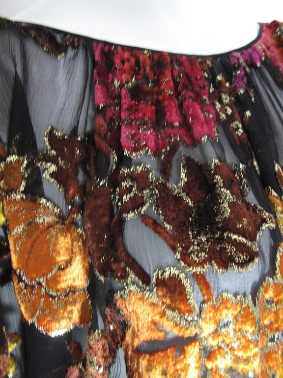 Women's Oscar de la Renta Peasant Skirt and Top For Sale