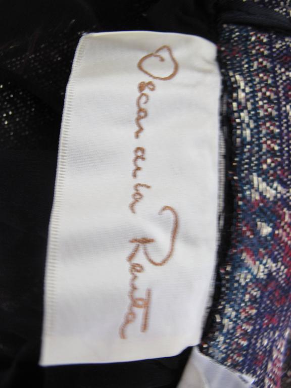 Oscar de la Renta Peasant Skirt and Top For Sale 1