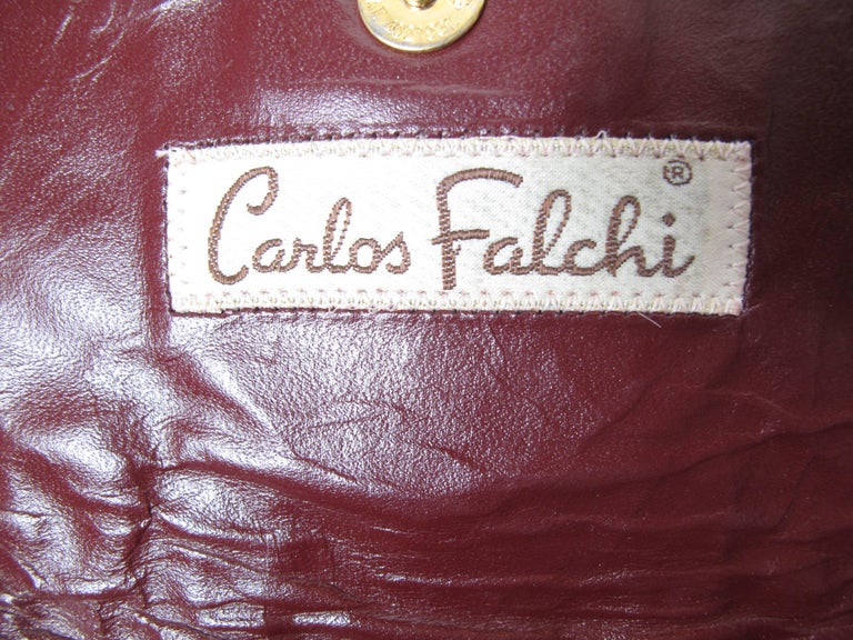 Carlos Falchi Patchwork Clutch 4