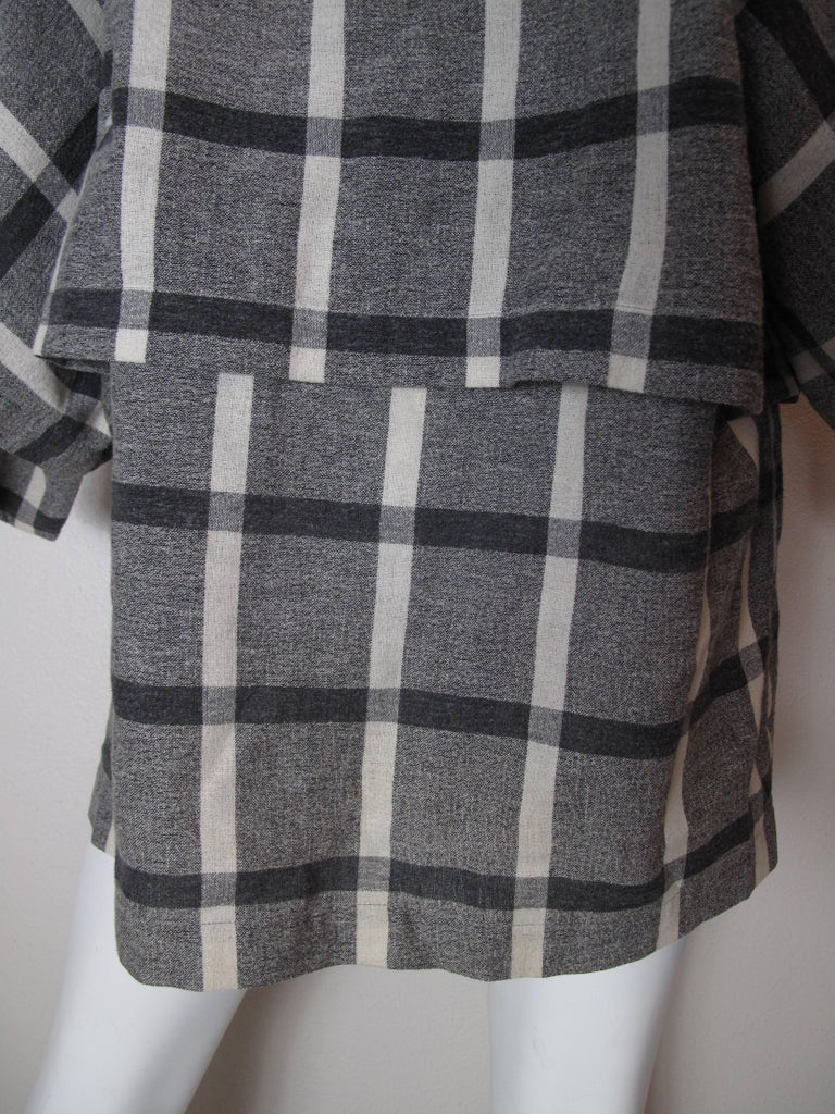Gray Issey Miyake Plantation Tunic For Sale