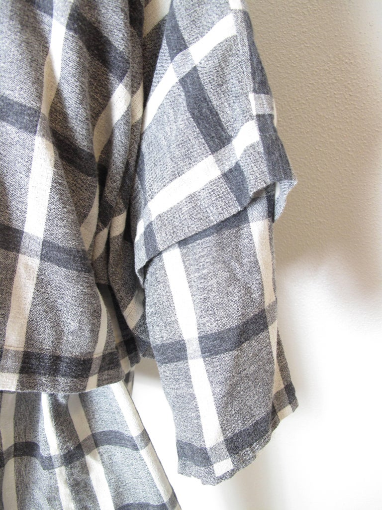 Issey Miyake Plantation Tunic In Good Condition For Sale In Austin, TX