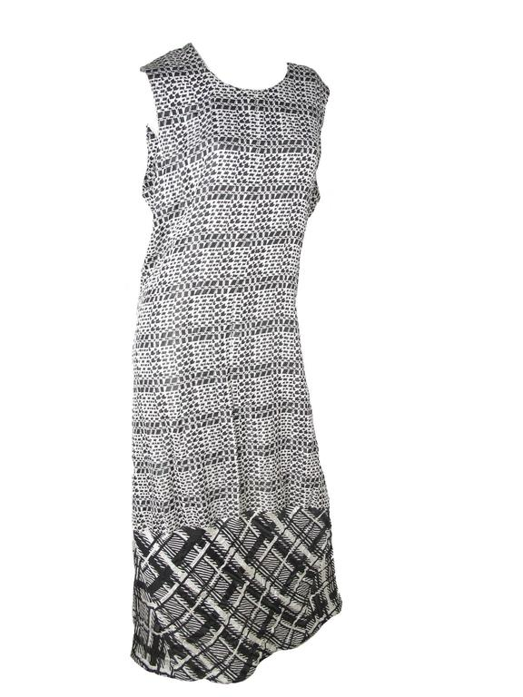 Gray Comme des Garcons Gown, 1992  For Sale