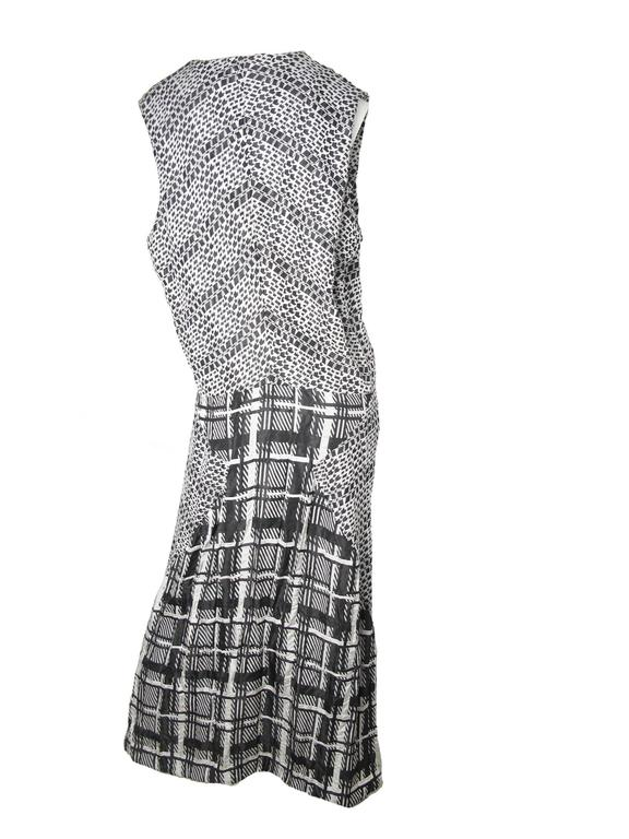 1992 Comme des Garcons arrow / star printed gown, never worn, original tags still attached.  44