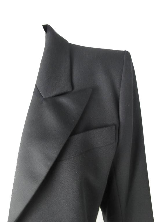 Yves Saint Laurent Cropped Tuxedo Jacket 5