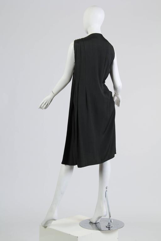 Women's Very Unique Avant Guarde Pauline Trigere Dress For Sale