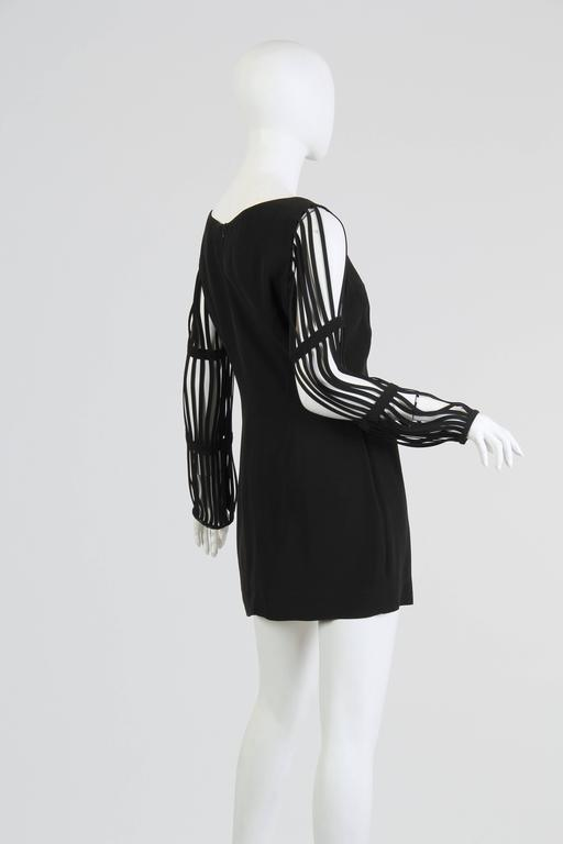Sophie Sitbon Cage Sleeve Dress 3