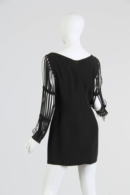 Sophie Sitbon Cage Sleeve Dress 5