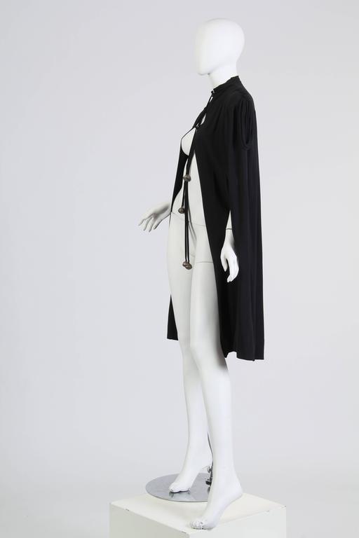 Women's or Men's 1930s Crepe Cape For Sale