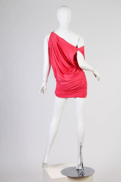Vivenne Westwood Slinky Jersey Dress In Excellent Condition For Sale In New York, NY