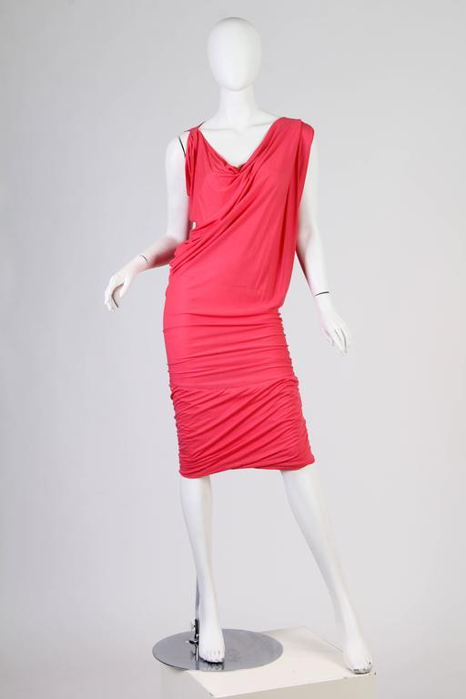 Women's Vivenne Westwood Slinky Jersey Dress For Sale