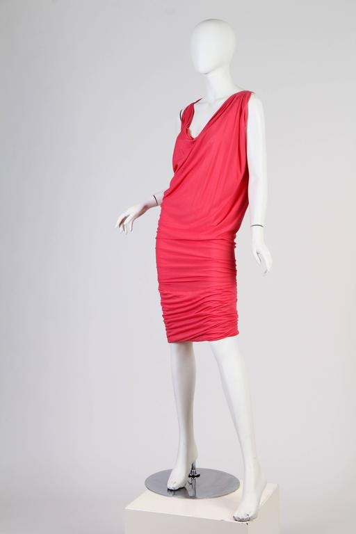 Vivenne Westwood Slinky Jersey Dress For Sale 2