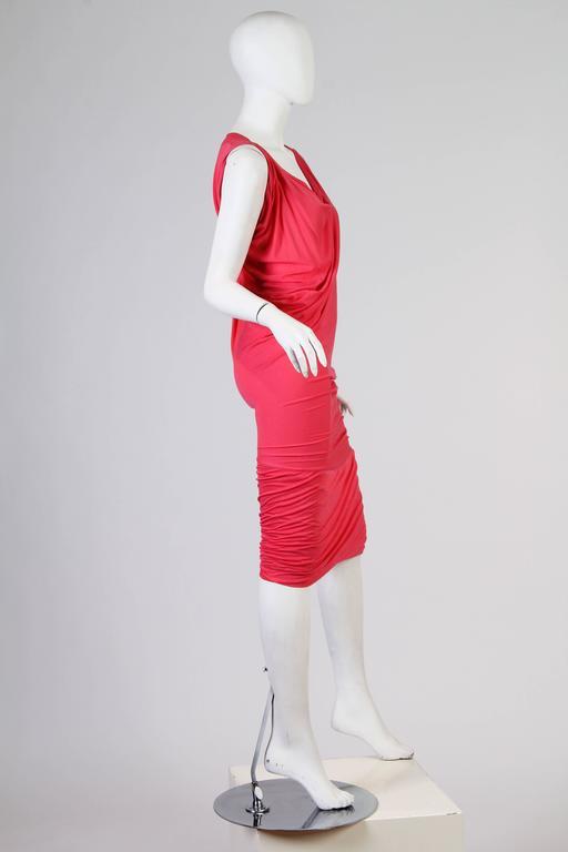 Vivenne Westwood Slinky Jersey Dress For Sale 4