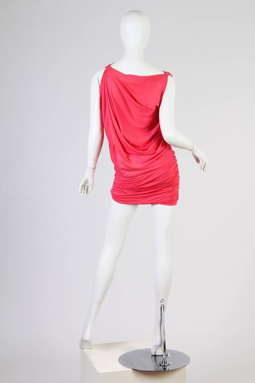Vivenne Westwood Slinky Jersey Dress For Sale 5