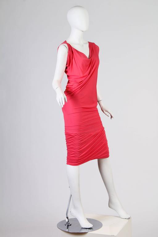 Vivenne Westwood Slinky Jersey Dress For Sale 3