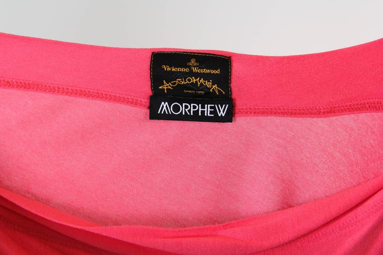 Vivenne Westwood Slinky Jersey Dress For Sale 6