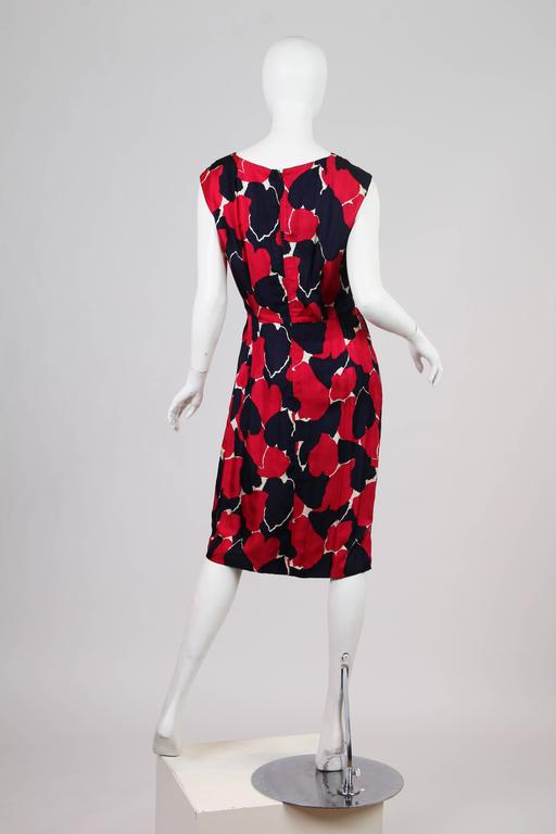 Early 1960s Silk Dress In Good Condition For Sale In New York, NY
