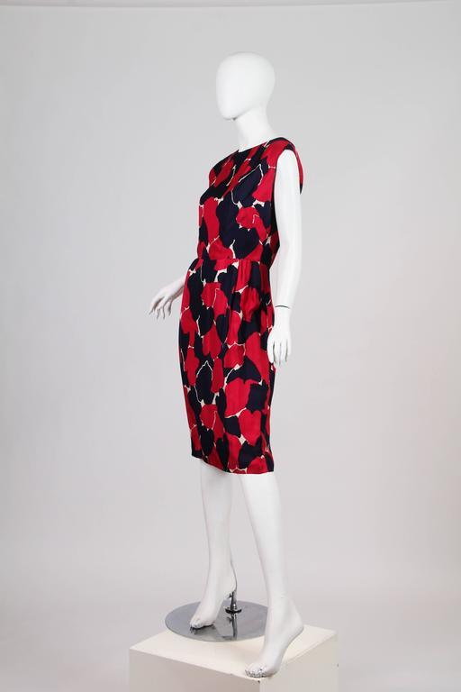 Women's Early 1960s Silk Dress For Sale