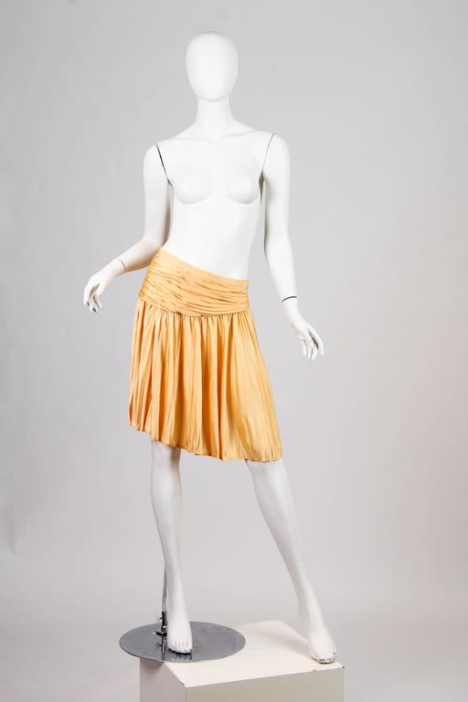 Gianni Versace Couture Jersey Skirt NWT For Sale 4