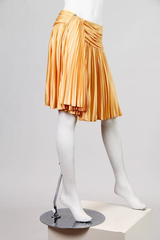 Gianni Versace Couture Jersey Skirt NWT In New Never_worn Condition For Sale In New York, NY