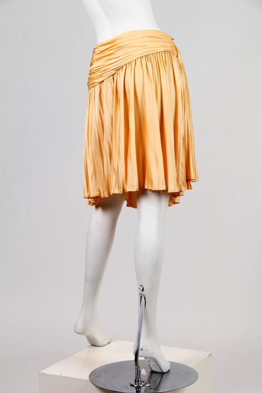 Gianni Versace Couture Jersey Skirt NWT For Sale 2