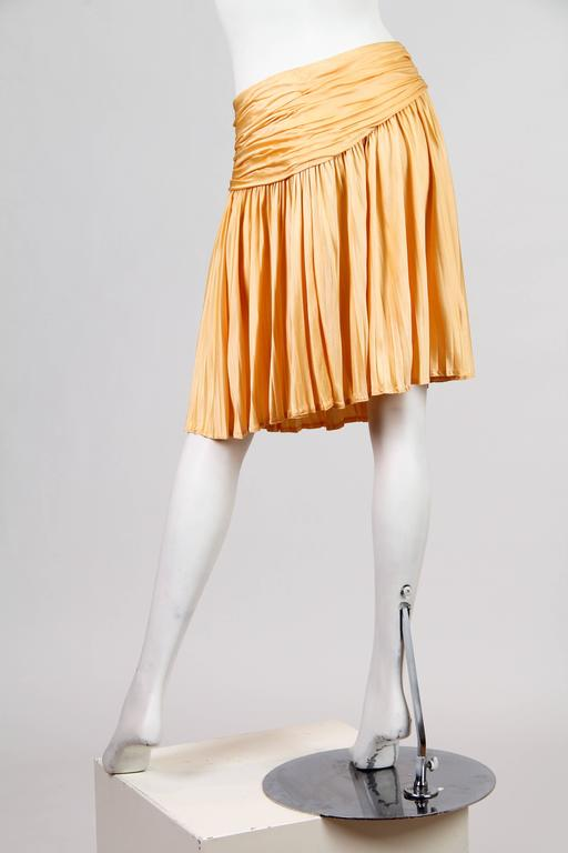 Gianni Versace Couture Jersey Skirt NWT For Sale 3
