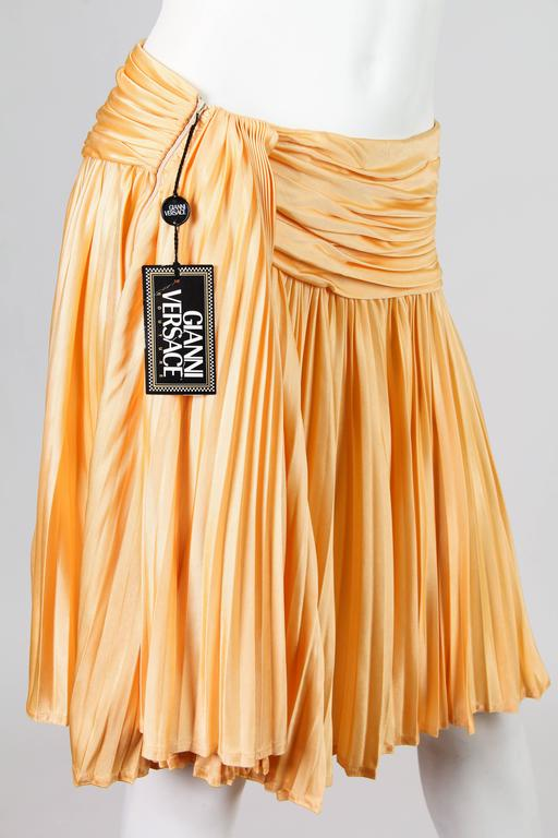 Gianni Versace Couture Jersey Skirt NWT For Sale 5