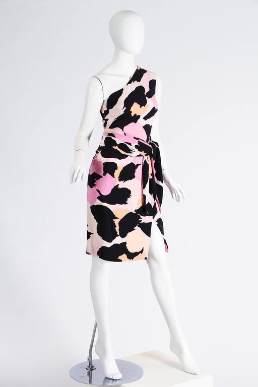 Sexy Jean Louis Scherrer Animal Print Dress 2