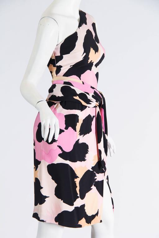 Sexy Jean Louis Scherrer Animal Print Dress 5