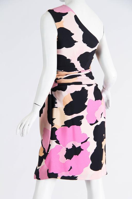 Sexy Jean Louis Scherrer Animal Print Dress 8