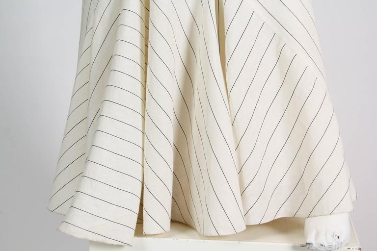 d21b222c7ba Ralph Lauren Purple Label 1930s Style Bias Cut Linen Dress at 1stdibs