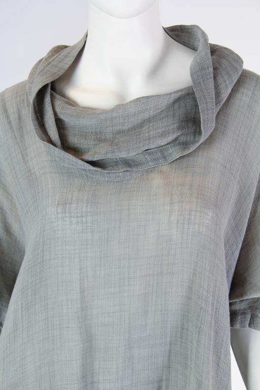Unisex Early Issey Miyake Cowl-neck Top For Sale 2