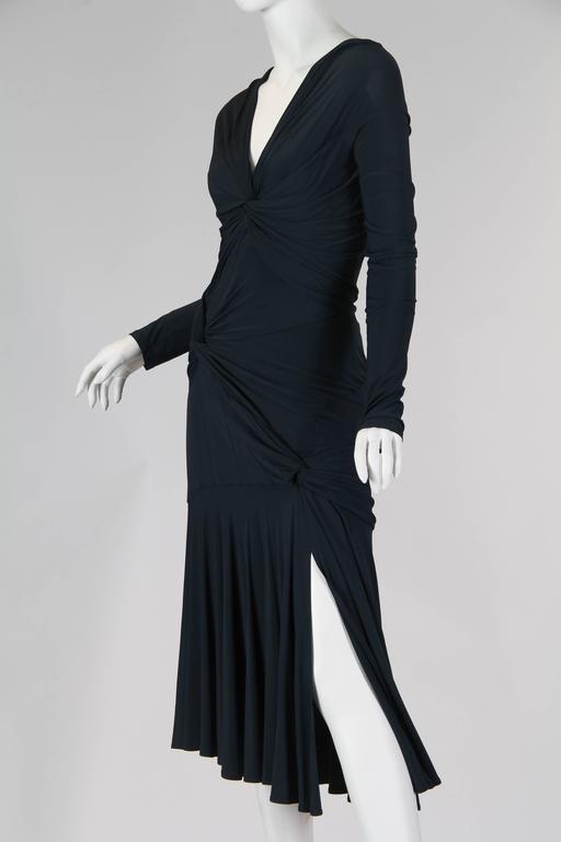 Women's Sexy Donna Karan Jersey Dress For Sale