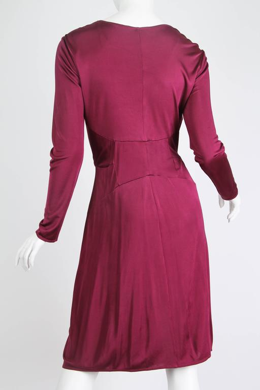 Alexander McQueen Slinky Jersey Dress  In Excellent Condition For Sale In New York, NY