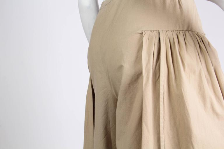 1970s Valentino Cotton Trousers At 1stdibs