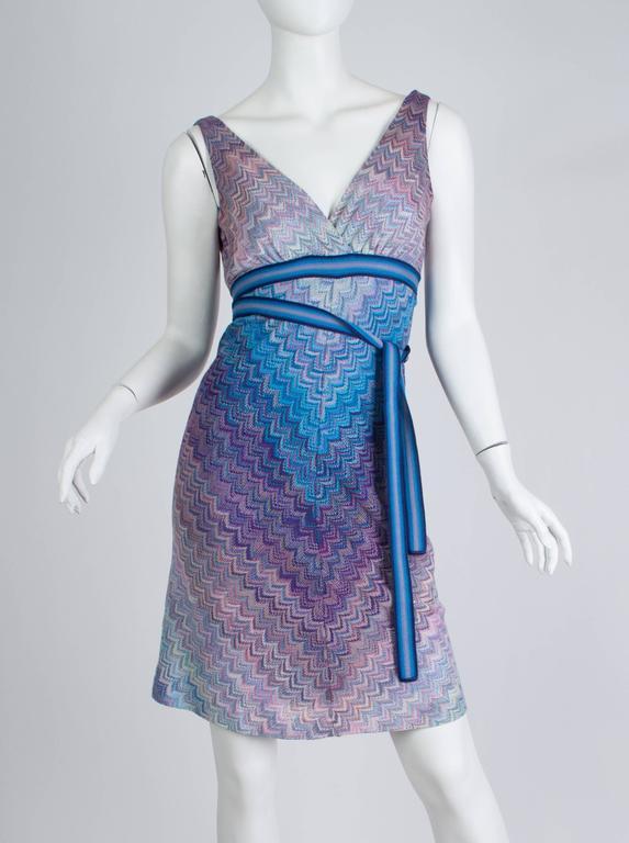 Gray Missoni Ombré Knit Dress For Sale