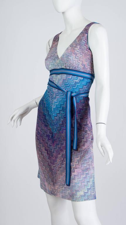 Missoni Ombré Knit Dress In Excellent Condition For Sale In New York, NY