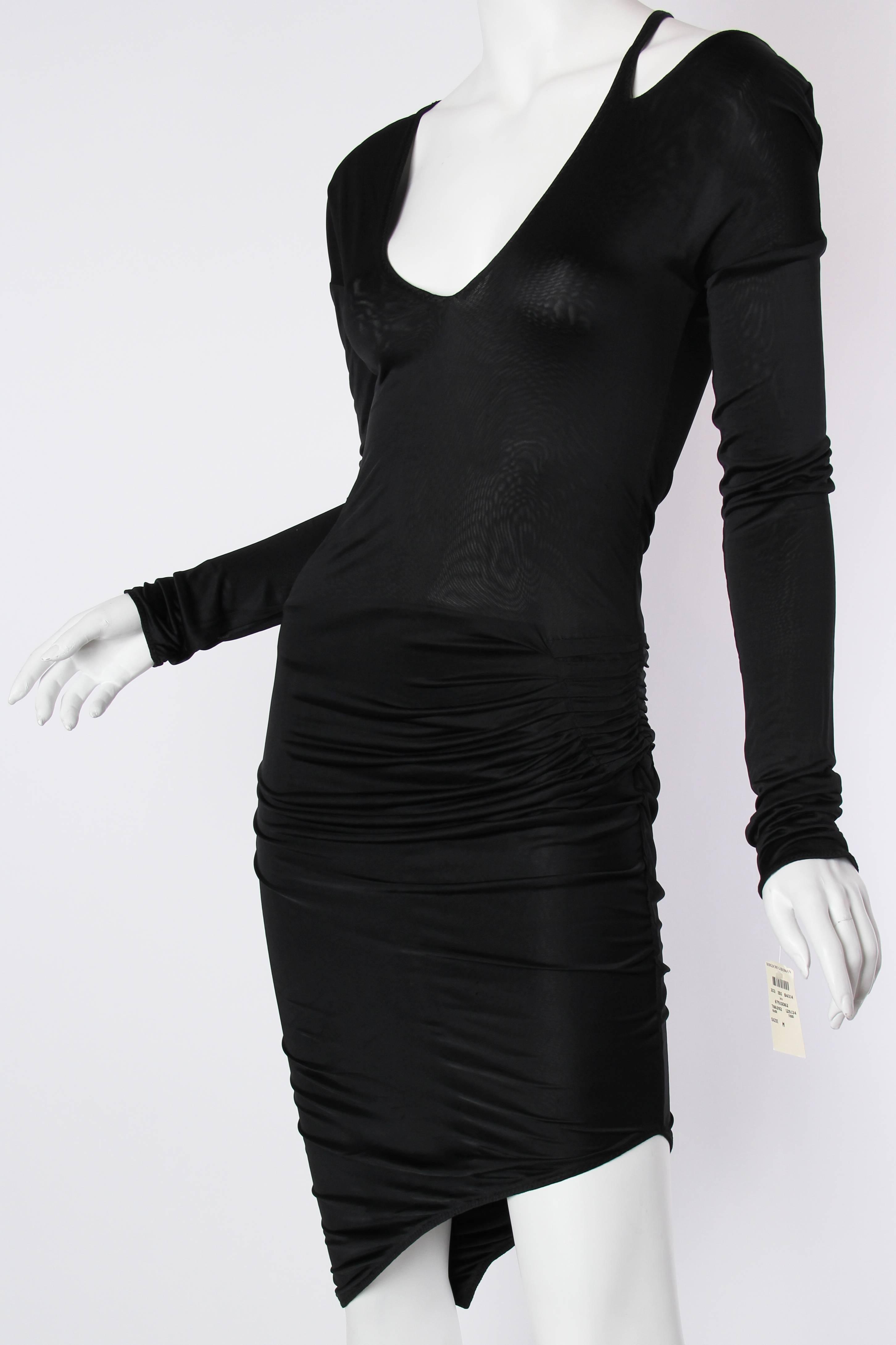 5b575f9d52 1990s Tom Ford Gucci Slinky Jersey Dress at 1stdibs