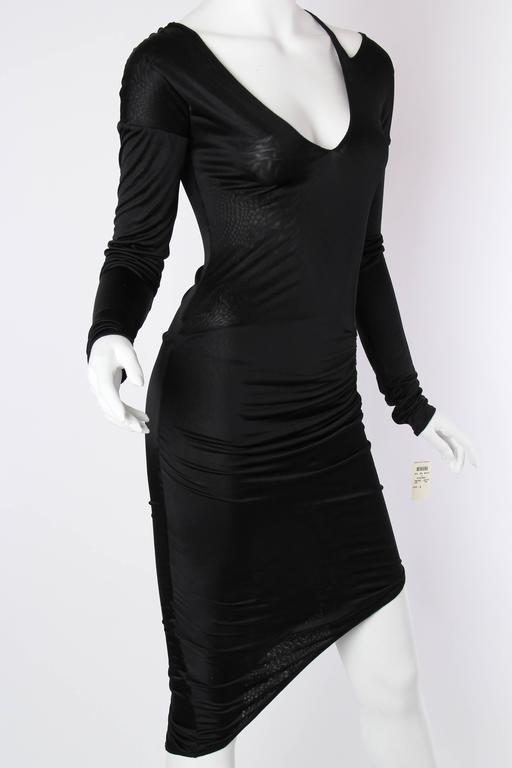 1990s Tom Ford Gucci Slinky Jersey Dress 4
