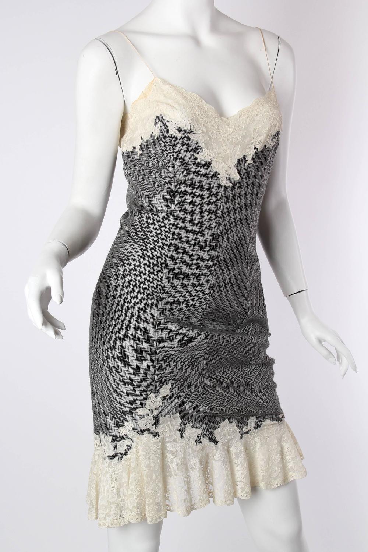 52f4605095 John Galliano for Christian Dior 1998 Bias Cut Lingerie Slip Dress For Sale  at 1stdibs. Dior Vintage Christian Bra