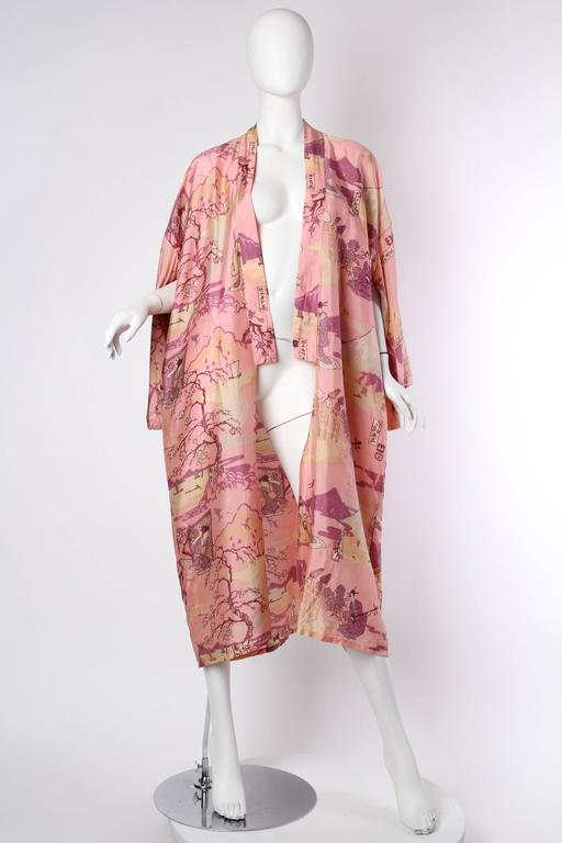 Let these ladies serenade you as you put your look together in your boudoir. Or take them out with you on the town as these lightweight kimonos are THE must have piece of next season. Get it first before they all wear it. This kimono is in