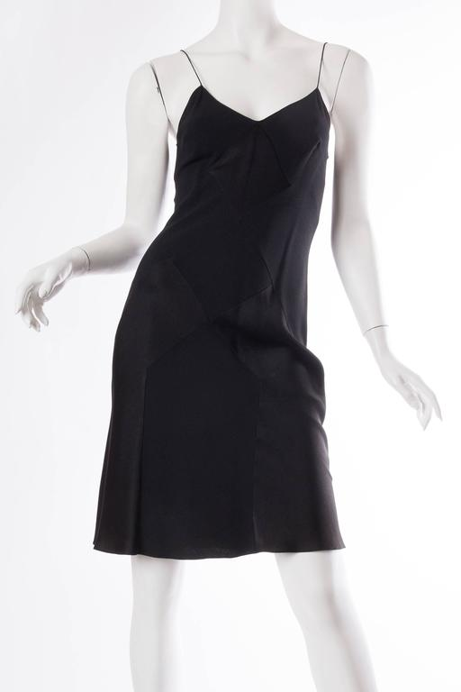John Galliano Art Deco Seamed Bias Cut Slip Dress 2