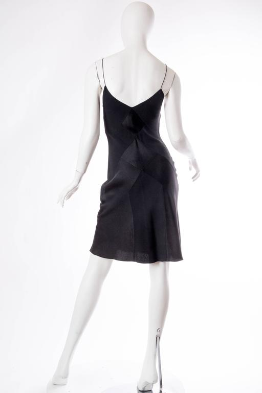 John Galliano Art Deco Seamed Bias Cut Slip Dress 3