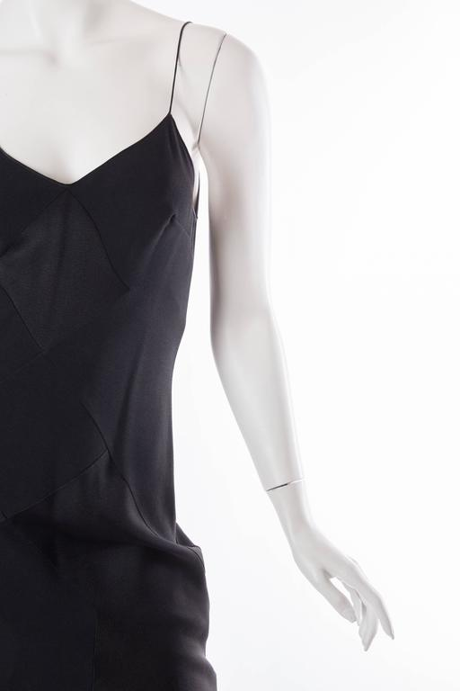 John Galliano Art Deco Seamed Bias Cut Slip Dress 5