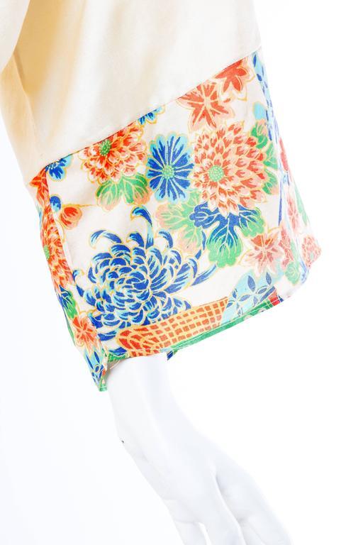 1920s Silk Dressing Kimono For Sale 2