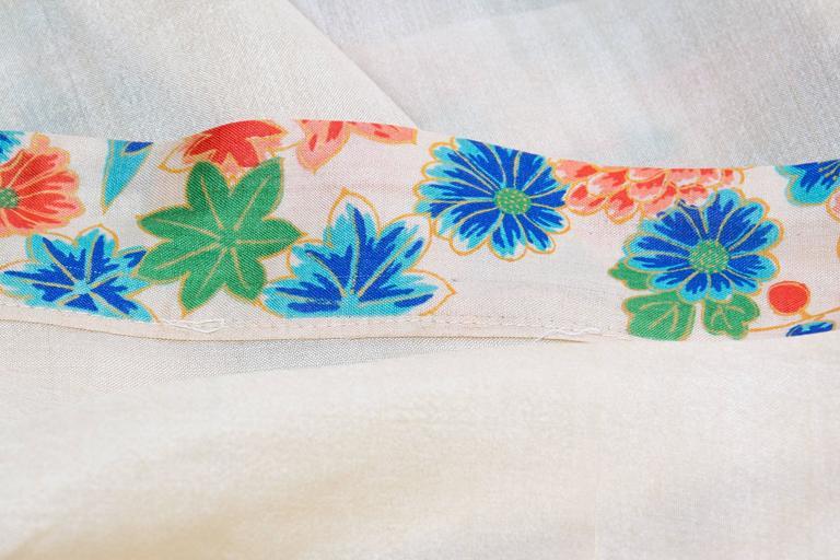 1920s Silk Dressing Kimono For Sale 5
