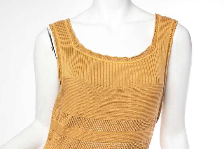 Margiela Cotton Knit Dress For Sale 2