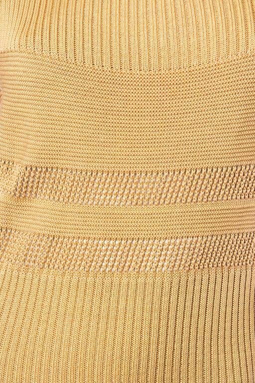 Margiela Cotton Knit Dress For Sale 3