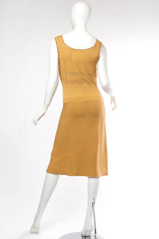 Women's Margiela Cotton Knit Dress For Sale