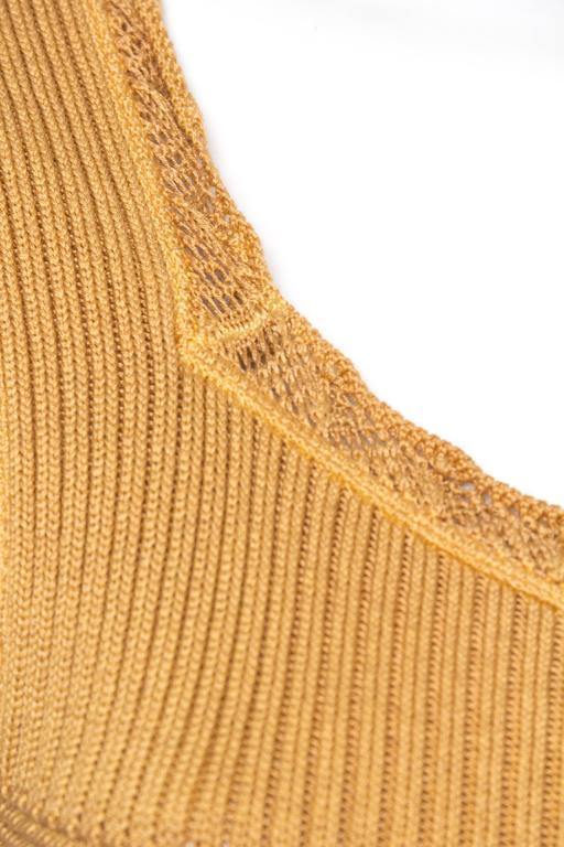 Margiela Cotton Knit Dress For Sale 4