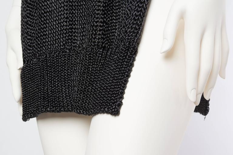 Alexander Wang Metallic Knit Dress For Sale 5